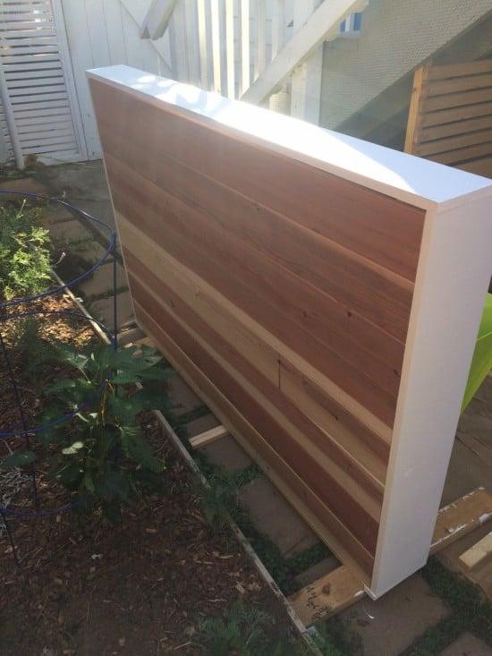 Cedar Fence Headboard