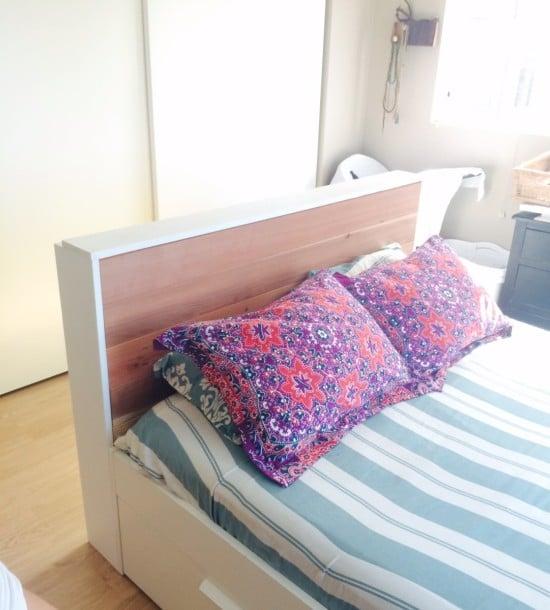 IKEA TRONES storage headboard