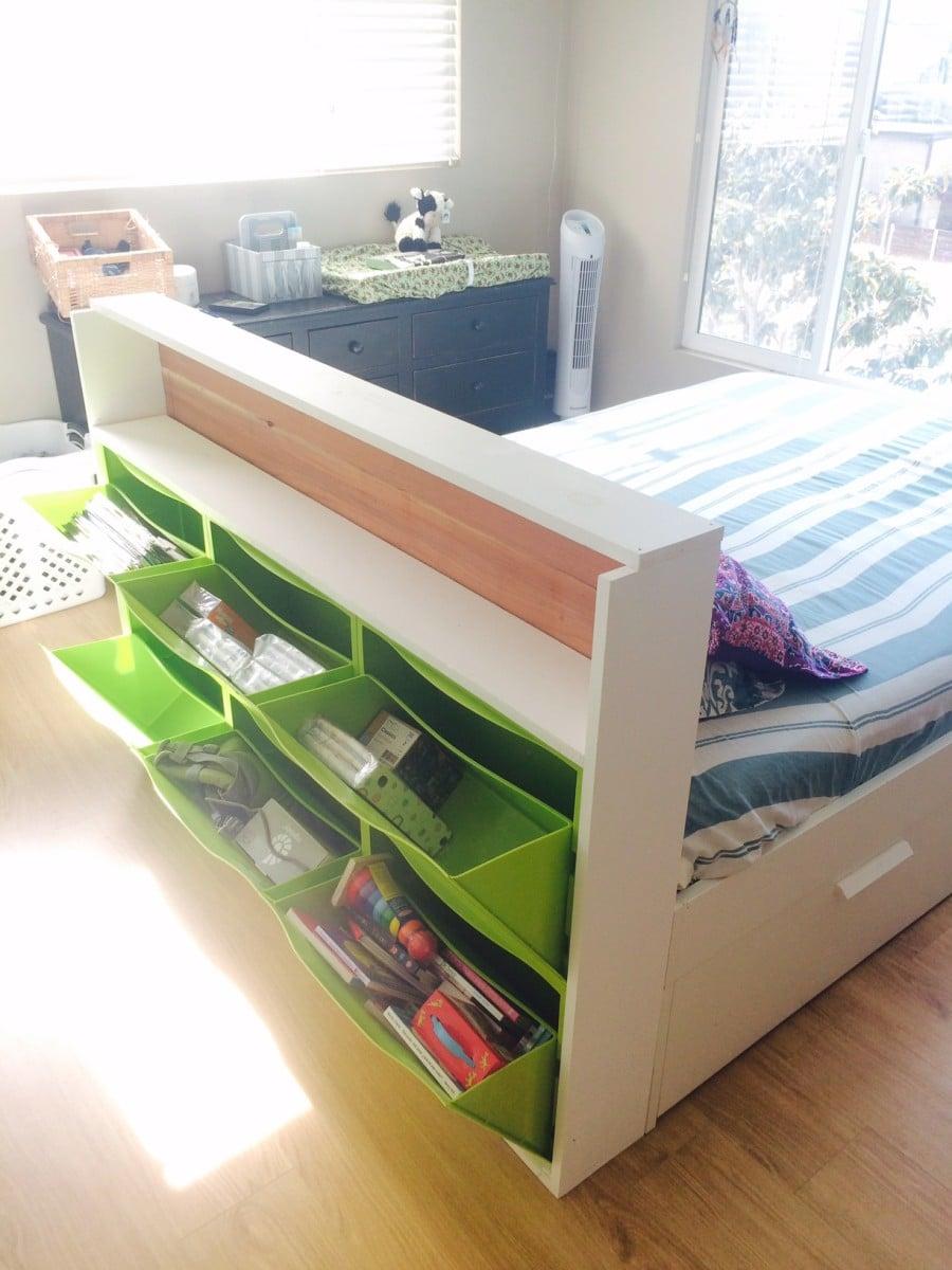 trones storage headboard ikea hackers ikea hackers. Black Bedroom Furniture Sets. Home Design Ideas