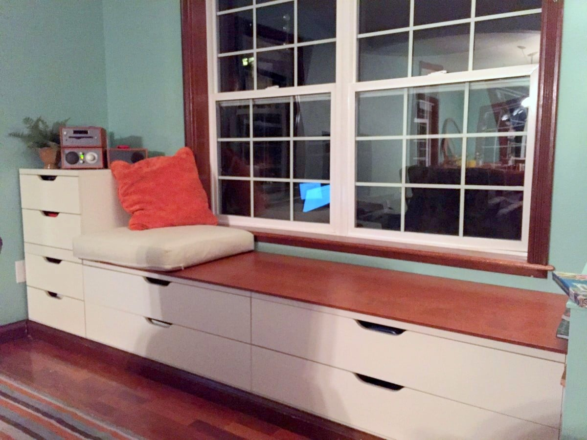 Bedroom Bench Ikea Hack
