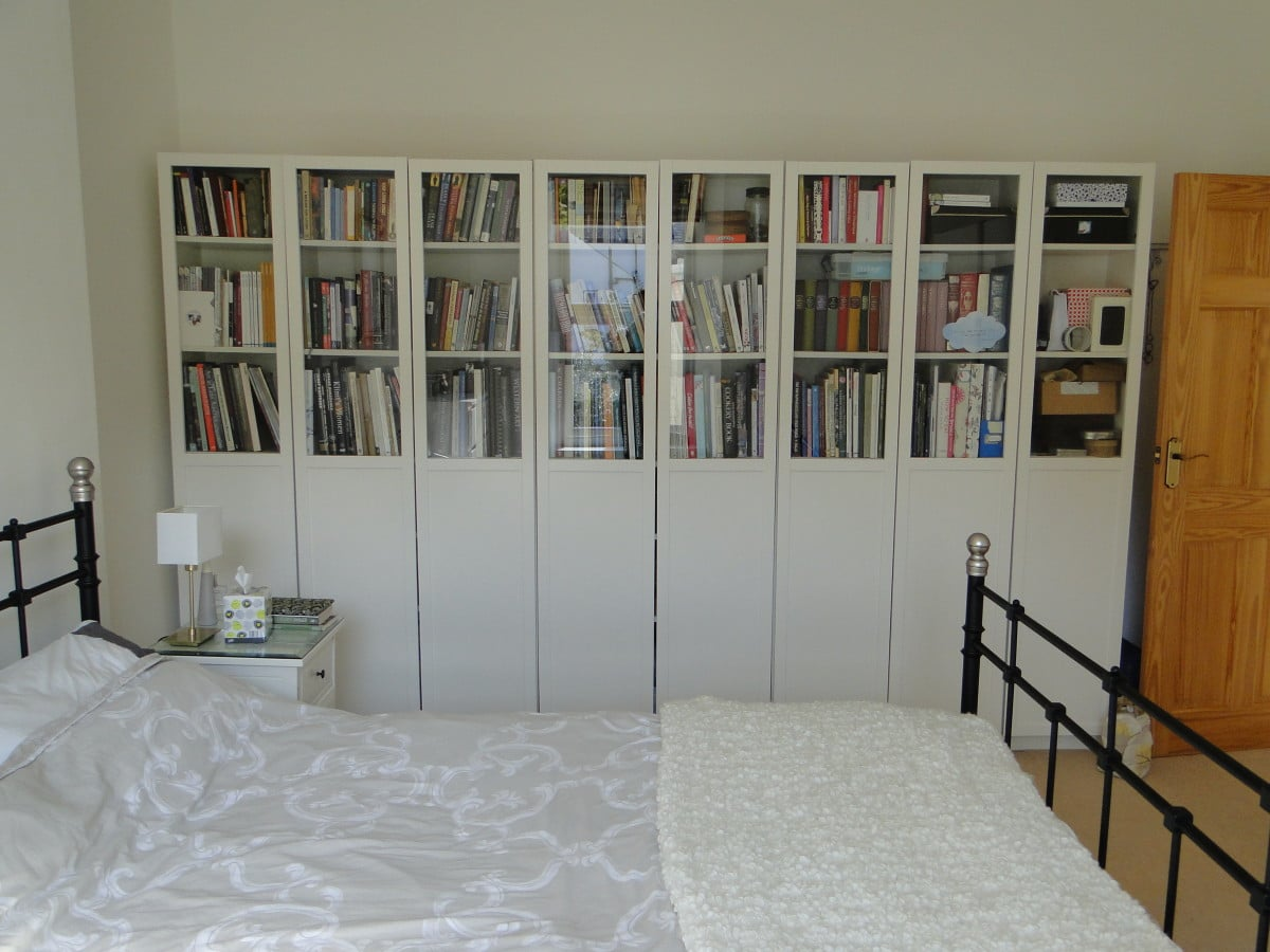 Styling The Ikea Billy Bookcases Oxberg Glass Doors Ikea