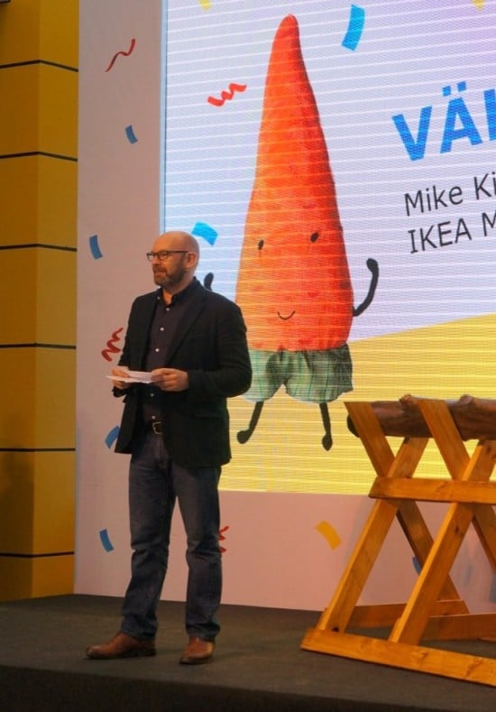 Mike King, Regional Director of IKEA Malaysia, Singapore and Thailand