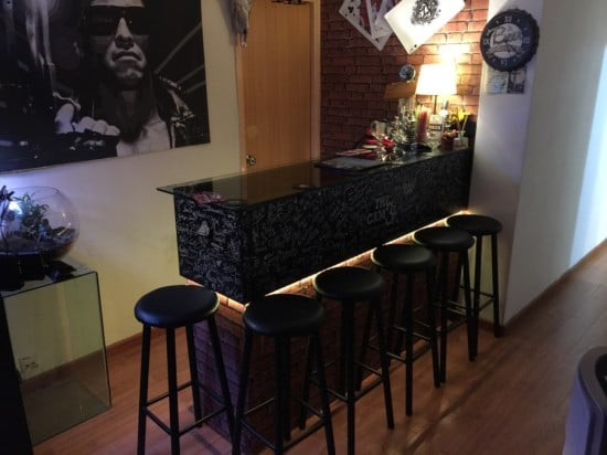 IKEA KALLAX bar hack