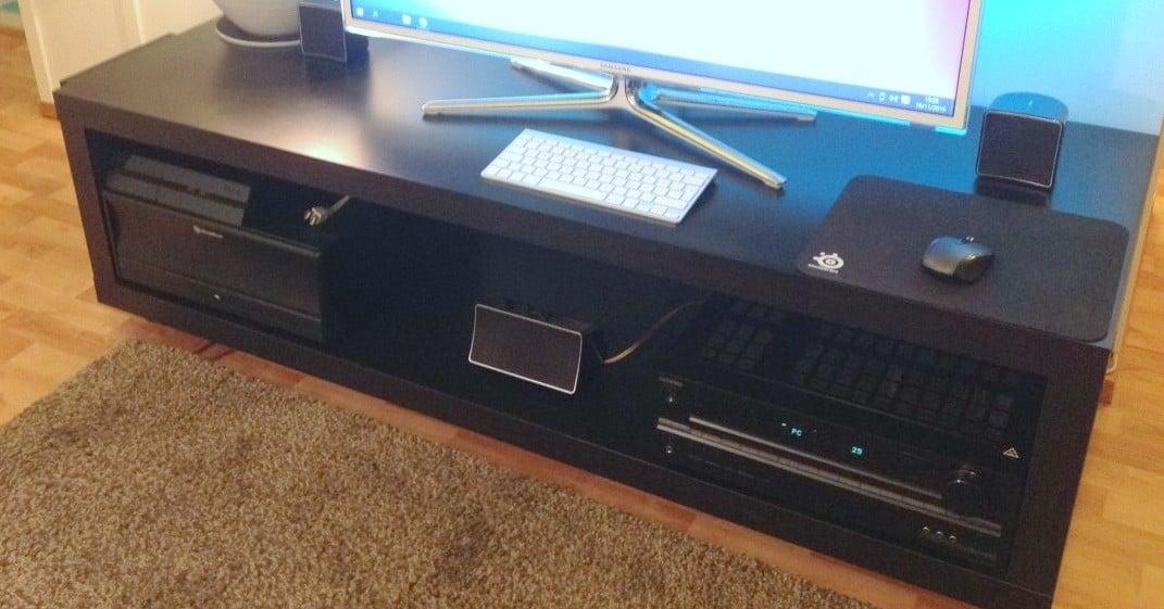 Supersized Lack Tv Bench Ikea Hackers Ikea Hackers