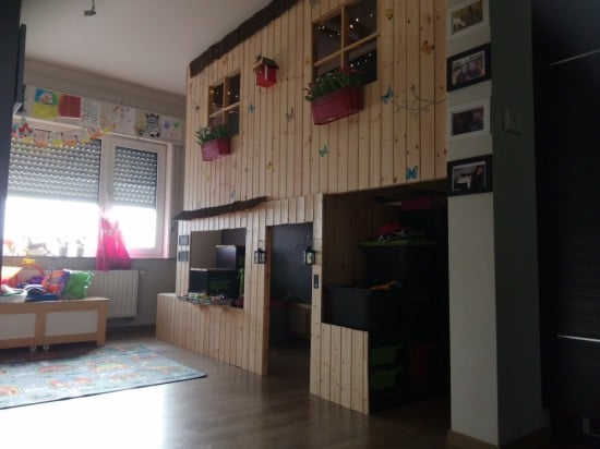 IKEA KURA double decker playhouse