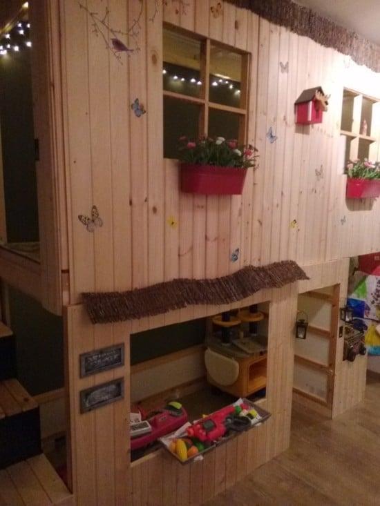My kids love their double decker playhouse