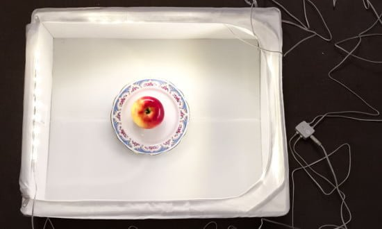 IKEA HACK DIY food photography lighting