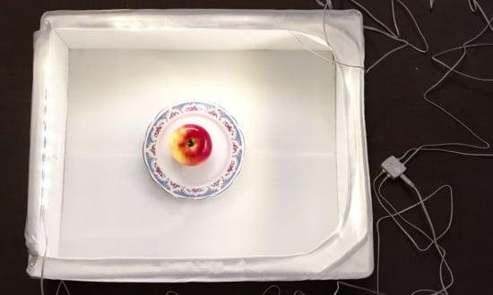 IKEA HACK DIY food photography lighting