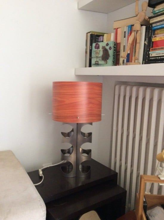 Wine Rack to Table Lamp