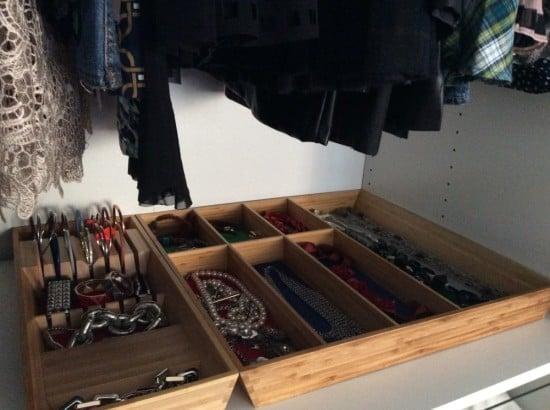 bracelets and necklaces organiser