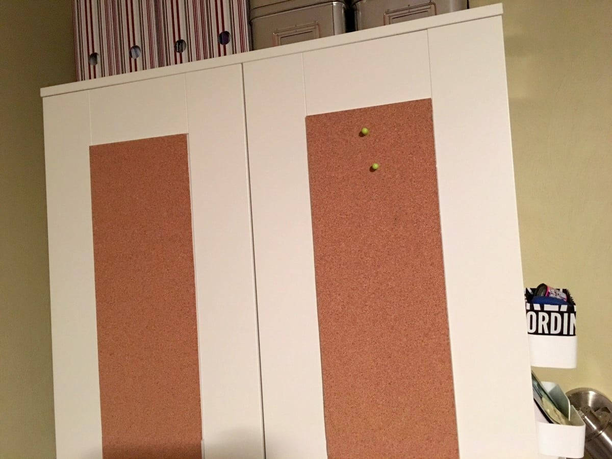IKEA BRIMNES Wardrobe with Corkboard panels IKEA Hackers IKEA Hackers