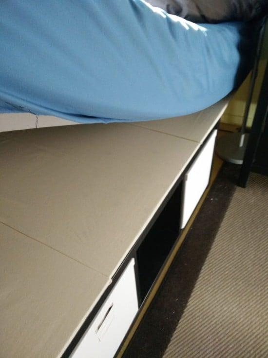 Kallax bed platform