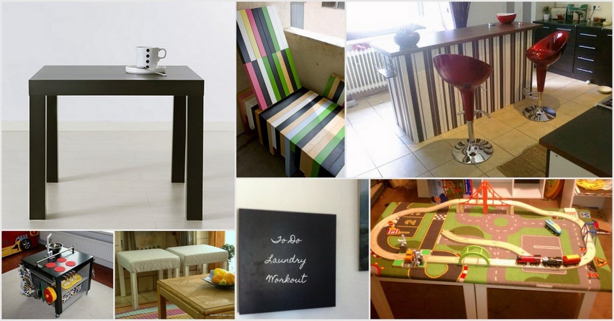 16 ways to use the IKEA LACK side table all around the house