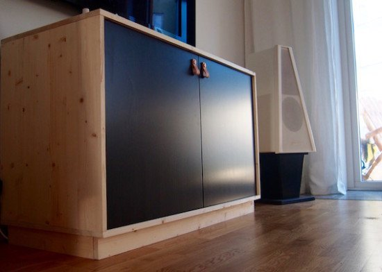 Best media hifi storage furniture ikea hackers ikea - Mobile hi fi ikea ...