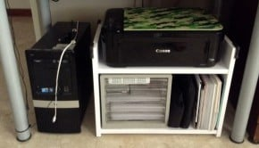 RAST printer rack