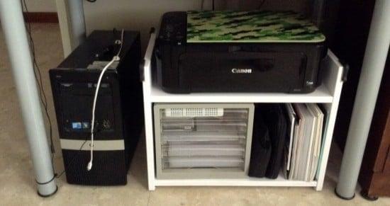 RAST printer rack
