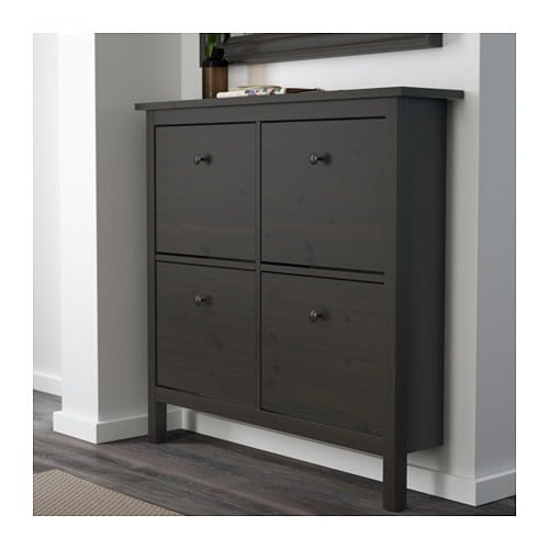 hackers help reuse hemnes shoe compartments ikea hackers. Black Bedroom Furniture Sets. Home Design Ideas