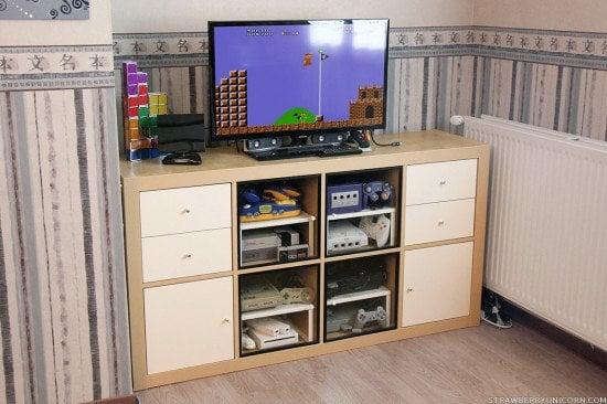 Expedit retro gaming cabinet