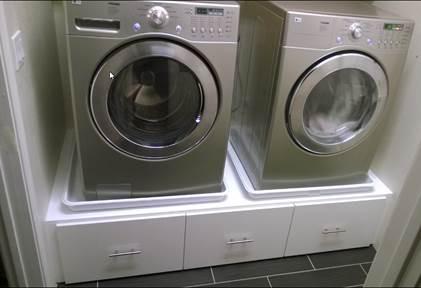 Ikea Besta Washer Dryer Pedestal