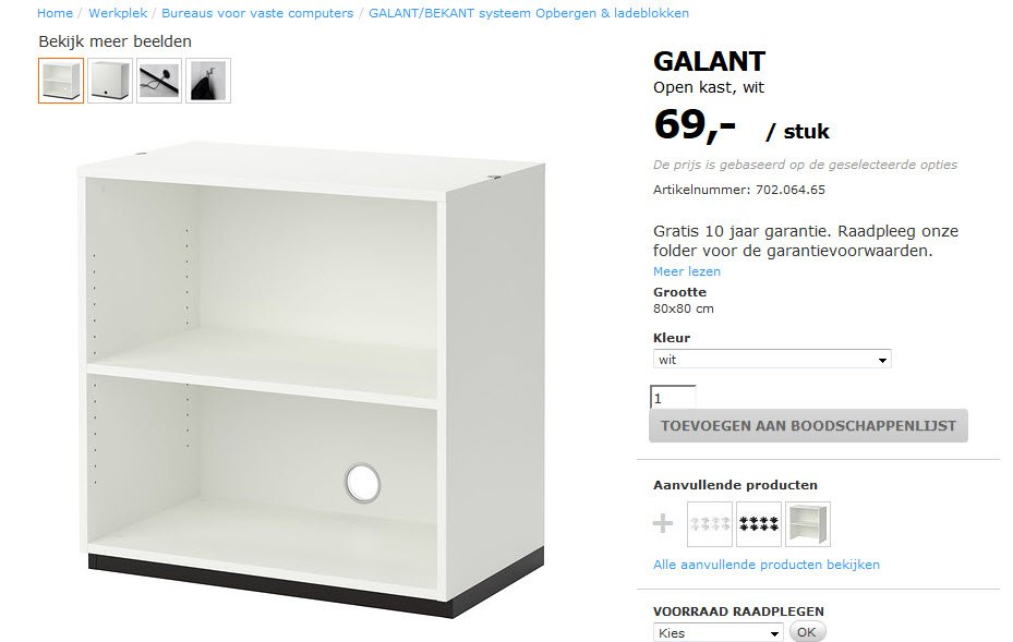 Betere GALANT office cabinets becomes a Barbie doll house - IKEA Hackers TK-36