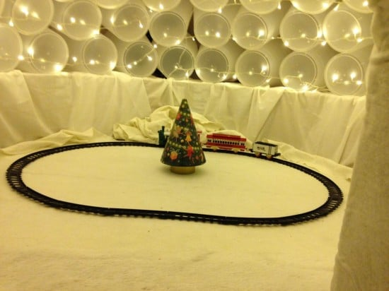 Santa's South Pole Holiday Home - inside