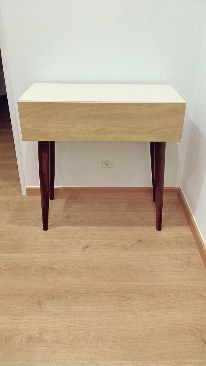 Ikea Kitchen Side Table Metod Kitchen Cabinet Meets Modern Mid Century Console Ikea