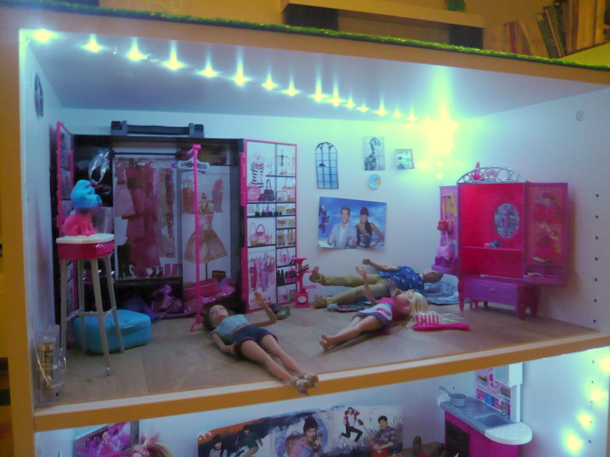 galant office cabinets becomes a barbie doll house ikea hackers. Black Bedroom Furniture Sets. Home Design Ideas