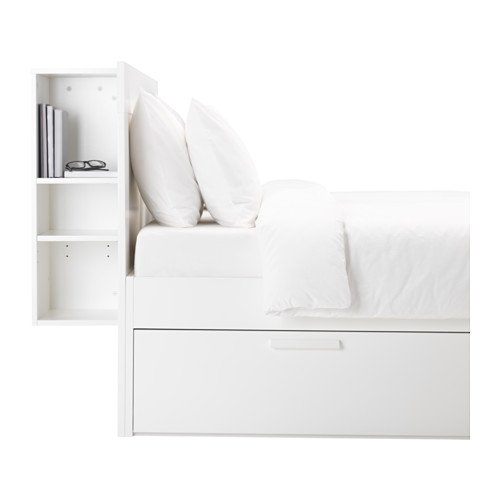 Hackers help how to make a flip top for ikea brimnes headboard ikea hacke - Lit avec rangement 140x200 ...
