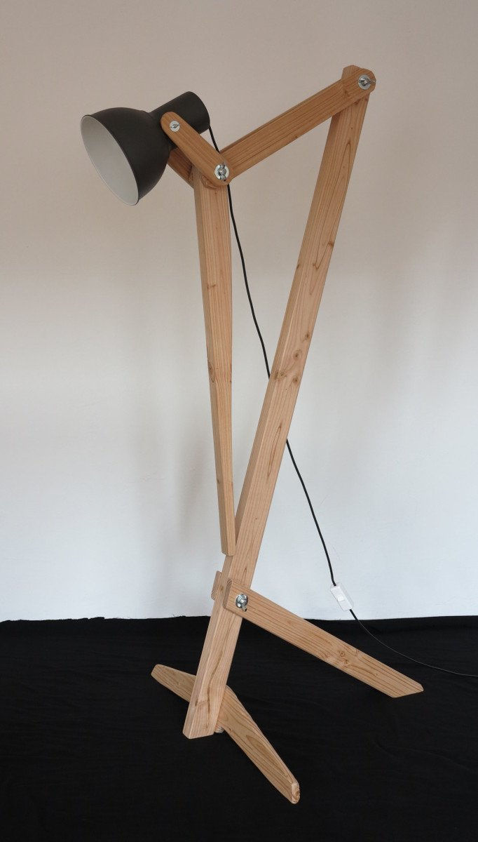 Ikea Malm Bett Lattenrost Rutscht ~ The Mantis floor lamp is made from the IKEA HEKTAR pendant lamp The