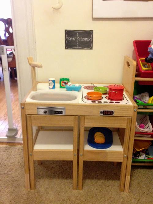 LATT play kitchen - all done!