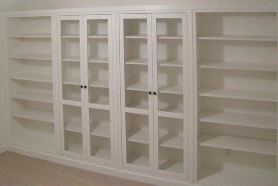 Hemnes Bookshelves Built-in