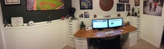 My updated office/desk