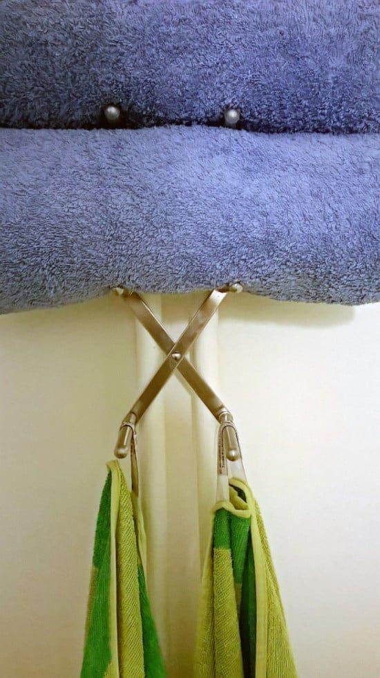 Variera towel holder