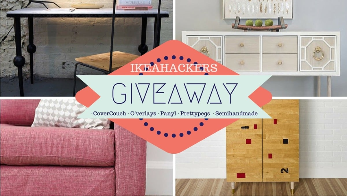 Win 200 Gift Certificates In The Ikeahackers Giveaway Ikea Hackers