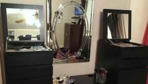 Glam MALM vanity tn