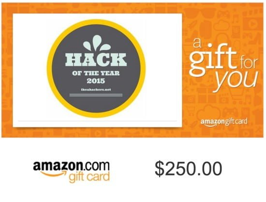 HOTY gift card
