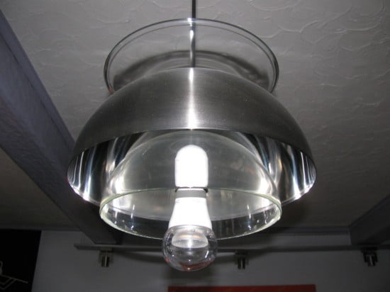 IKEA OPPEN glass bowls as ceiling lighting