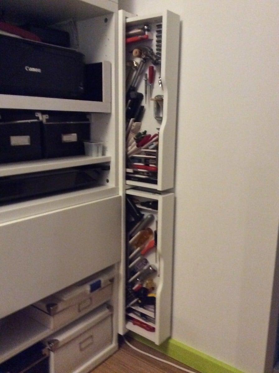 Sneaky Ekby Alex Tool Cabinets Ikea Hackers