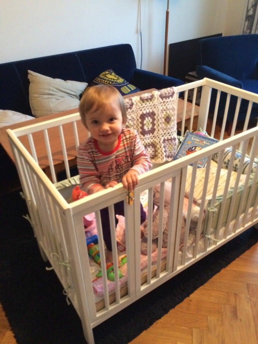 baby crib ikea