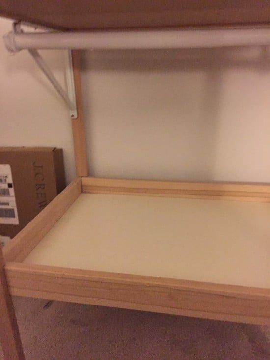toddler's Mini Closet