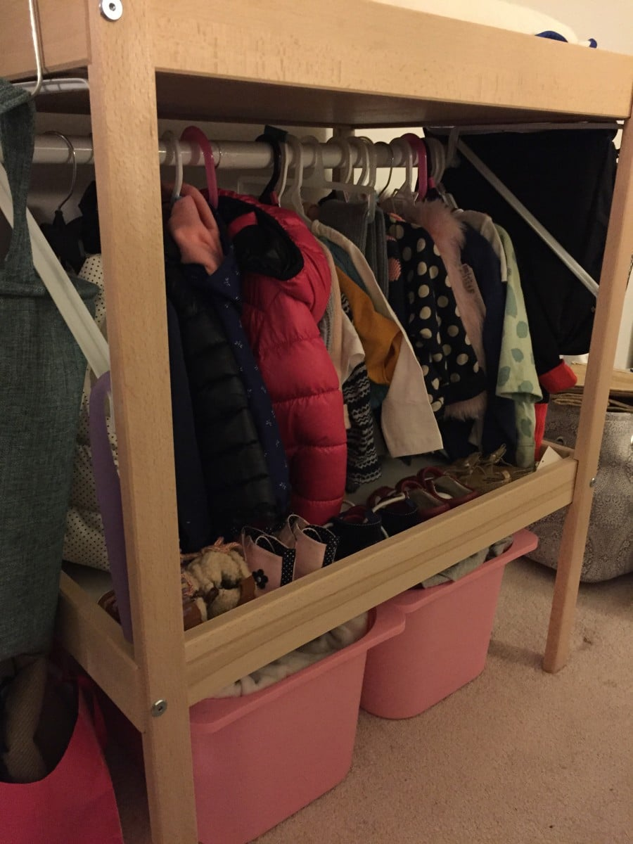 baby mini closet