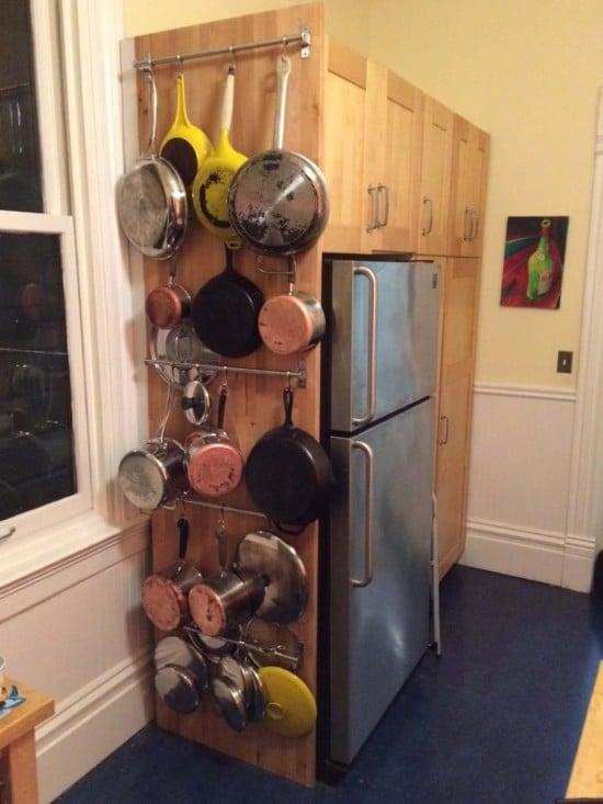 Hammarp kitchen wall storage