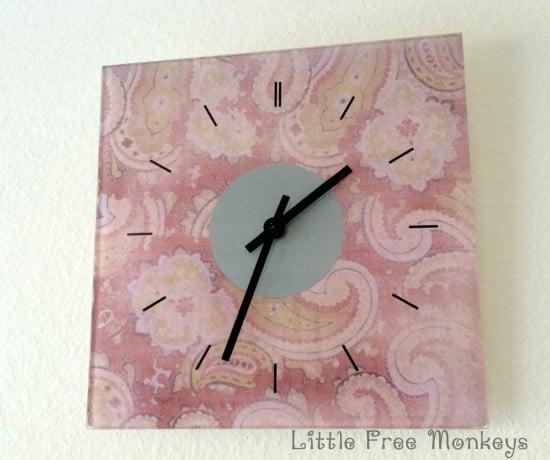 SKOJ clock after