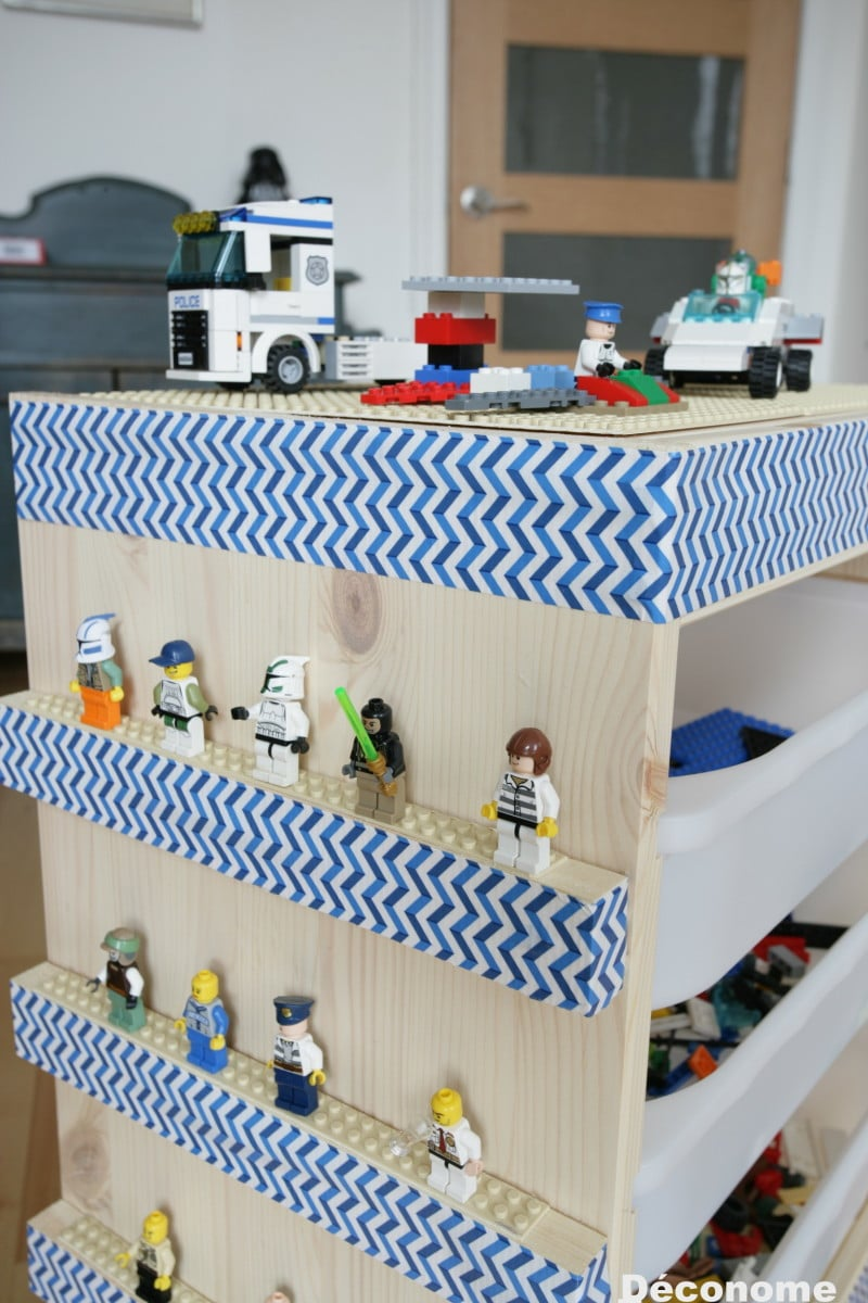 So Easy To Make An Ikea Lego Storage Cart Ikea Hackers