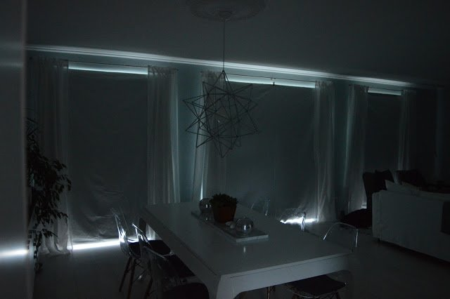 White Curtains black and white curtains ikea : Removable black out curtains with ENUDDEN hanger with clip - IKEA ...