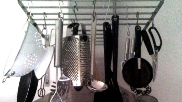 pot hanger rack