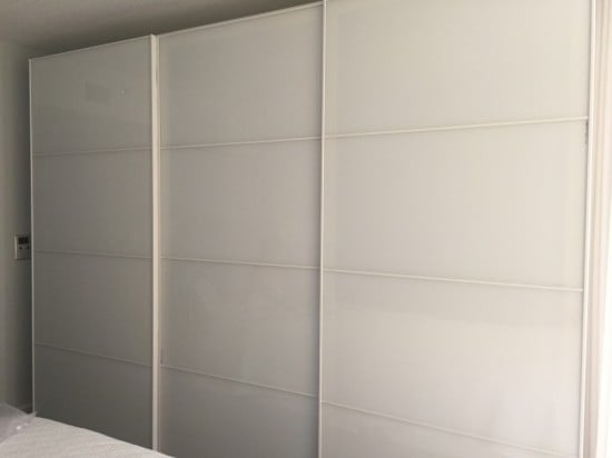 PAX wardrobe sliding doors