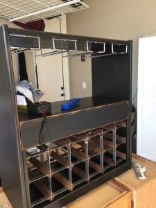 IKEA RAST dresser hack wine cart