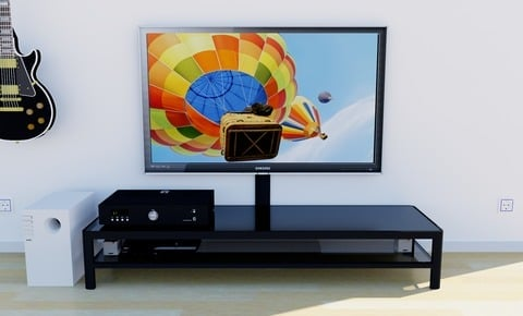 IKEA Gettorp one tier media stand