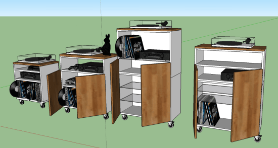 Sketchup plan of a WAF friendly gaming center